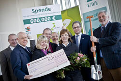 E/D/E spendet 600.000 Euro an Kinderhospiz Burgholz