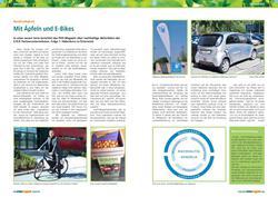 Rubrik Nachhaltigkeit im PVH Magazin