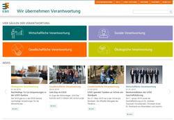 E/D/E Nachhaltigkeitswebseite live